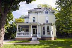 Casa americana tradizionale Fotografia Stock