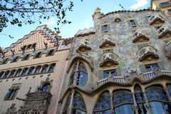 Casa Ametller and Casa Batllo in Barcelona, Spain Stock Photo