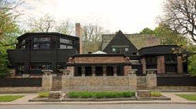 Casa & studio del Frank Lloyd Wright Immagini Stock