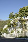 Casa andalusa bianca Fotografia Stock