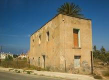 Casa antica di pietra in Pafo, Cipro Fotografia Stock Libera da Diritti