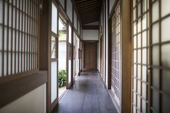 Casa antica giapponese Fotografia Stock