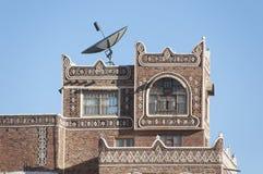 Casa antica in vecchia città di Sana Fotografie Stock Libere da Diritti