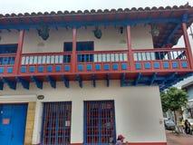 Casa antigua arkivbild