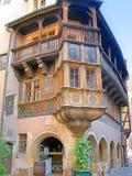 Casa antigua de Alsacian Fotos de archivo libres de regalías