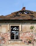 Casa após o fogo Imagem de Stock Royalty Free
