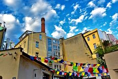 Casa aperta Praga del Tibet fotografia stock libera da diritti