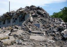 Casa arruinada. foto de stock