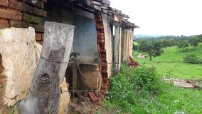 Casa arruinada da exploração agrícola Fotografia de Stock Royalty Free