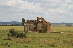 Casa arruinada de la granja Imagen de archivo libre de regalías