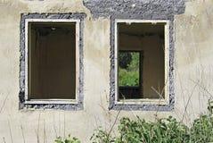 Casa arruinada velha Fotos de Stock Royalty Free