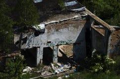 Casa arruinada vieja Fotos de archivo