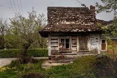 Casa arruinada vieja Fotografía de archivo libre de regalías