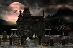 Casa assombrada 2 Imagem de Stock