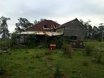 Casa assombrada condenada velha Imagem de Stock