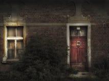 Casa asustadiza Imagenes de archivo