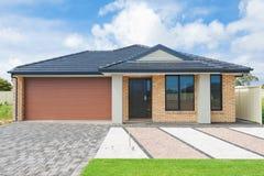 Casa australiana fotografie stock