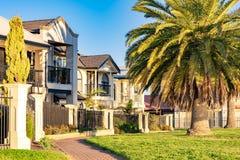 Casa australiana típica foto de archivo libre de regalías