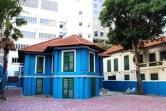 Casa azul Foto de archivo