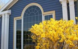 Casa azul Foto de Stock Royalty Free
