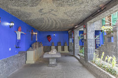 Casa azul Azul do La da casa Imagem de Stock