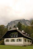 Casa bávara alpina St Bartholoma Konigssee germany fotos de stock royalty free