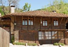 Casa búlgara del renacimiento Fotografía de archivo