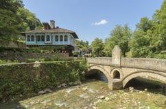 Casa búlgara etnográfica Etar fotos de stock