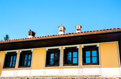 Casa búlgara tradicional velha Imagens de Stock Royalty Free