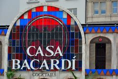 Casa Bacardi Royalty Free Stock Photography
