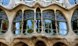 Casa Baio in Barcelona Royalty Free Stock Photos