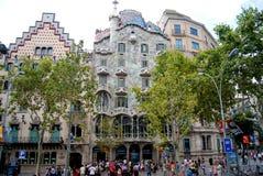 Casa Baio in Barcelona Royalty Free Stock Photos