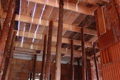 Casa bajo construcción Fotos de archivo