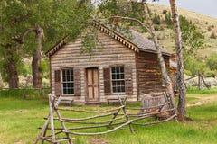 Casa in Bannack Fotografia Stock Libera da Diritti