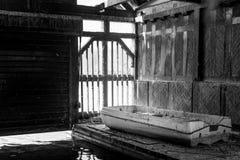 Casa barco Imagen de archivo libre de regalías