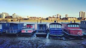 Casa barco Fotos de archivo