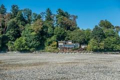 Casa a bassa marea 2 Immagine Stock Libera da Diritti