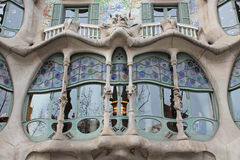 Casa Batilo, Barcelona, Spain Stock Photos