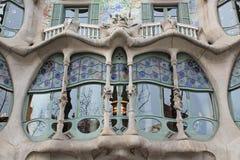 Casa Batilo, Barcelona, Spain stock photos
