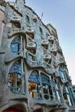 Casa Batilo façade. Barcelona Spain royalty free stock photography