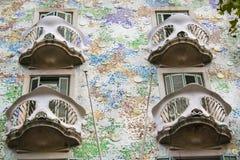 Casa Batl� at Barcelona Royalty Free Stock Photography