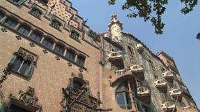Casa Batll—, Barcelona, España, almacen de video