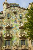 Casa Batlló Antoni Gaudí�s masterpieces. Stock Photo