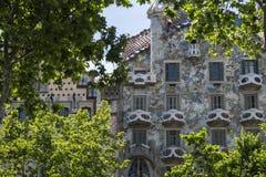 Casa BatllÃ-³, Spanien stockfotografie