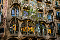 Casa Batlló Royalty-vrije Stock Foto's
