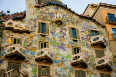 Casa Batlló Stock Afbeeldingen