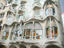 Casa Batlló, masterpiece of Antoni Gaudì, in Barcelona Stock Photo