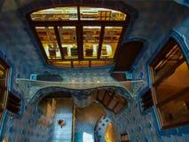 Casa Batllo - Area de Luz, Barcelona Stock Images