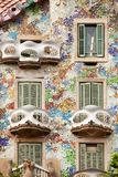Casa Batllo Βαρκελώνη Στοκ Φωτογραφία
