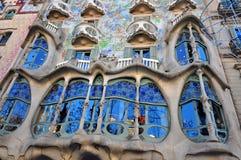 Casa Batllo, Βαρκελώνη Στοκ εικόνα με δικαίωμα ελεύθερης χρήσης